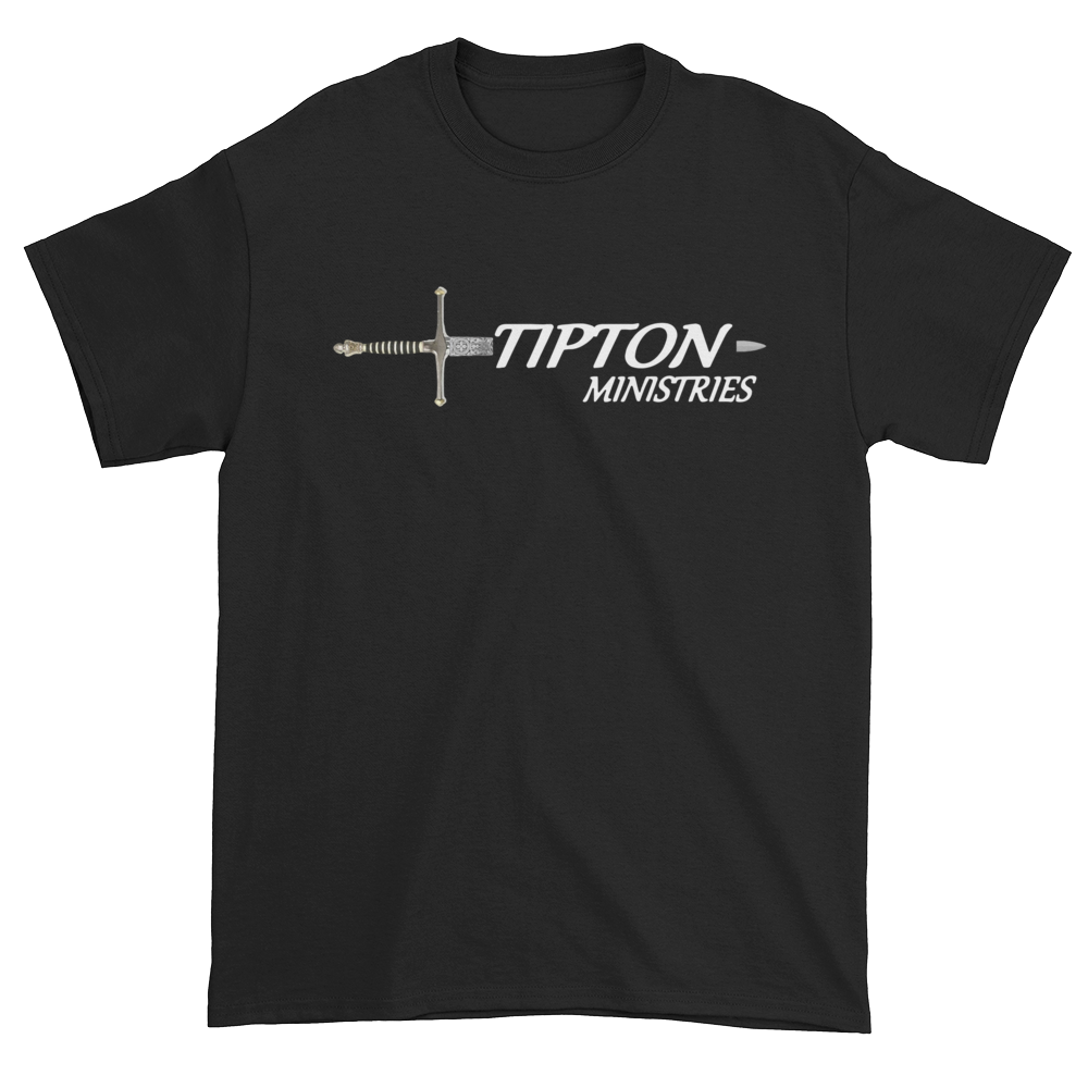 Tipton Ministry Logo, Sharing the Truth, Front/Back Print T-Shirt - 11 Colors