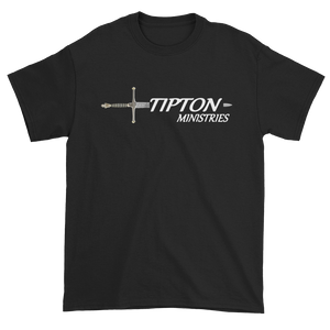 Tipton Ministry Logo, Sharing the Truth, Front/Back Print T-Shirt, 11 Colors