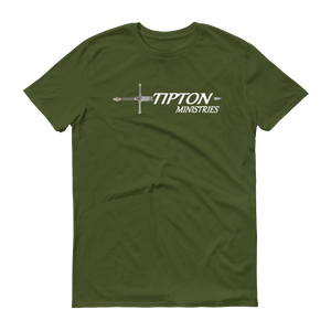 Tipton Ministry Logo, Front Print T-Shirt, 16 Colors