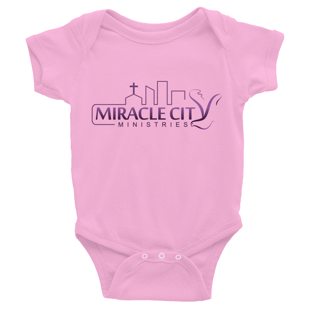 Infant Bodysuit - Miracle City Logo