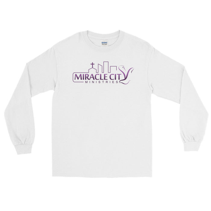 Miracle City Logo, Long Sleeve T-Shirt - 2 Colors