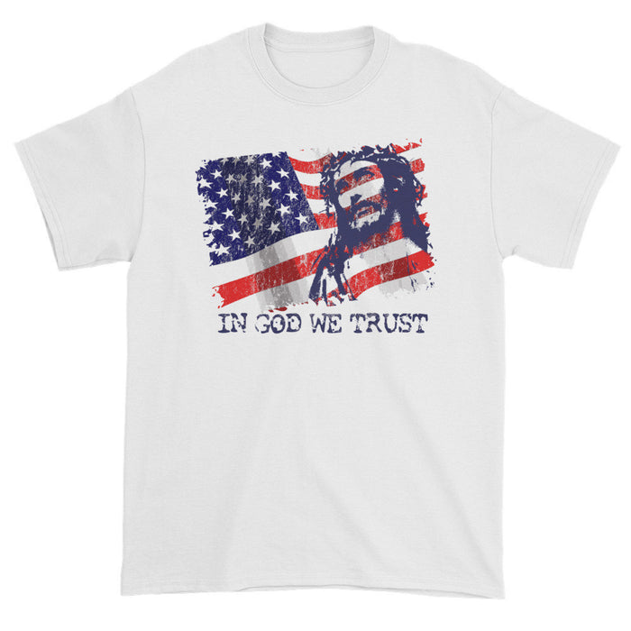 In God We Trust, Front Print T-Shirt