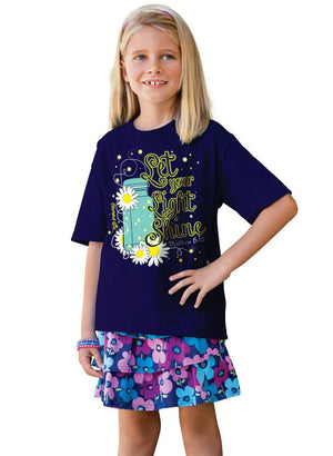 Lightning Bug T-Shirt, Glows in the Dark, Toddlers and Kids Sizes