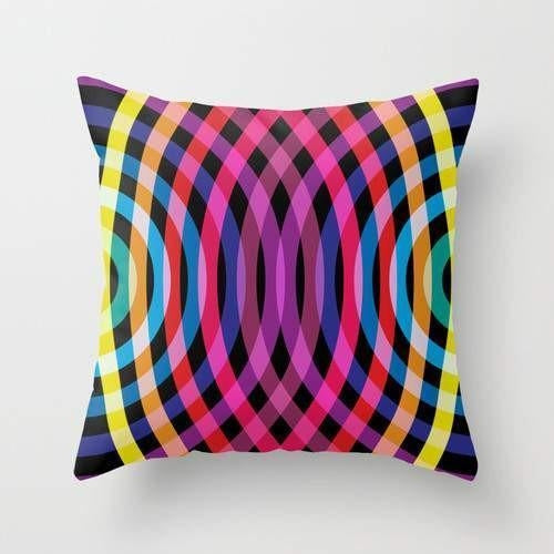 Reverberations Pillow or Cover Only, 4 Sizes