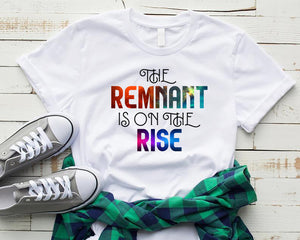 The Remnant is on the Rise, Style 2, Unisex T-Shirt, 12 Colors