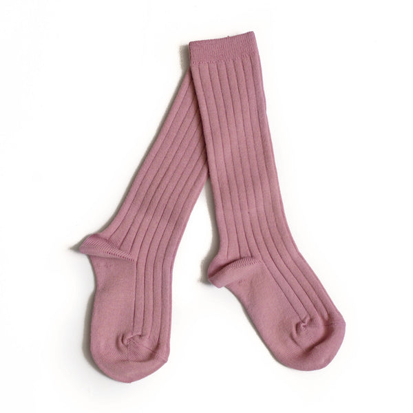 Antique Rose Knee Socks