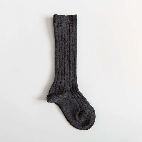 Graphite Knee Socks