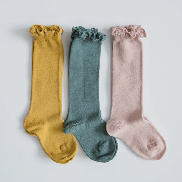 Ruffle Knee Socks Bundle