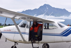 Student Pilot Savanah Gets Her Birthday Wish