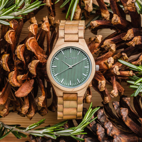 TruWood Stark Wooden Watch