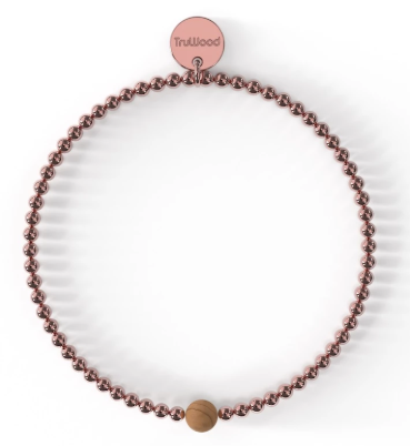 Rose Gold/Maple Bracelet