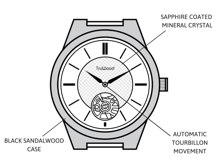 Automatic Tourbillon watch
