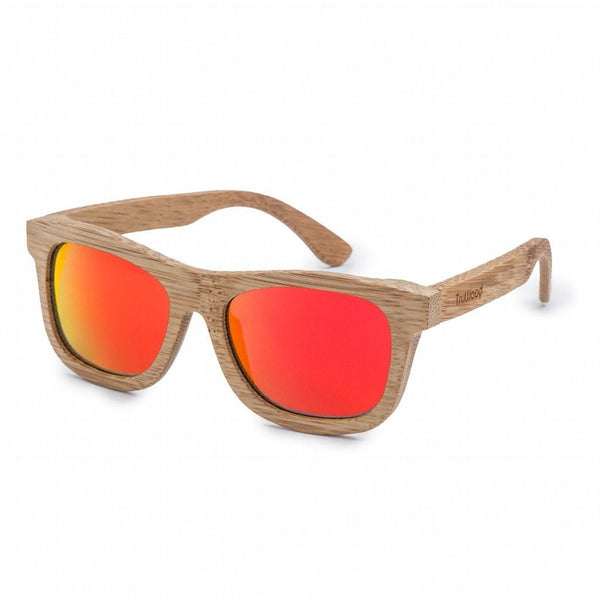 Bamboo Ultimate Sunglasses - Red