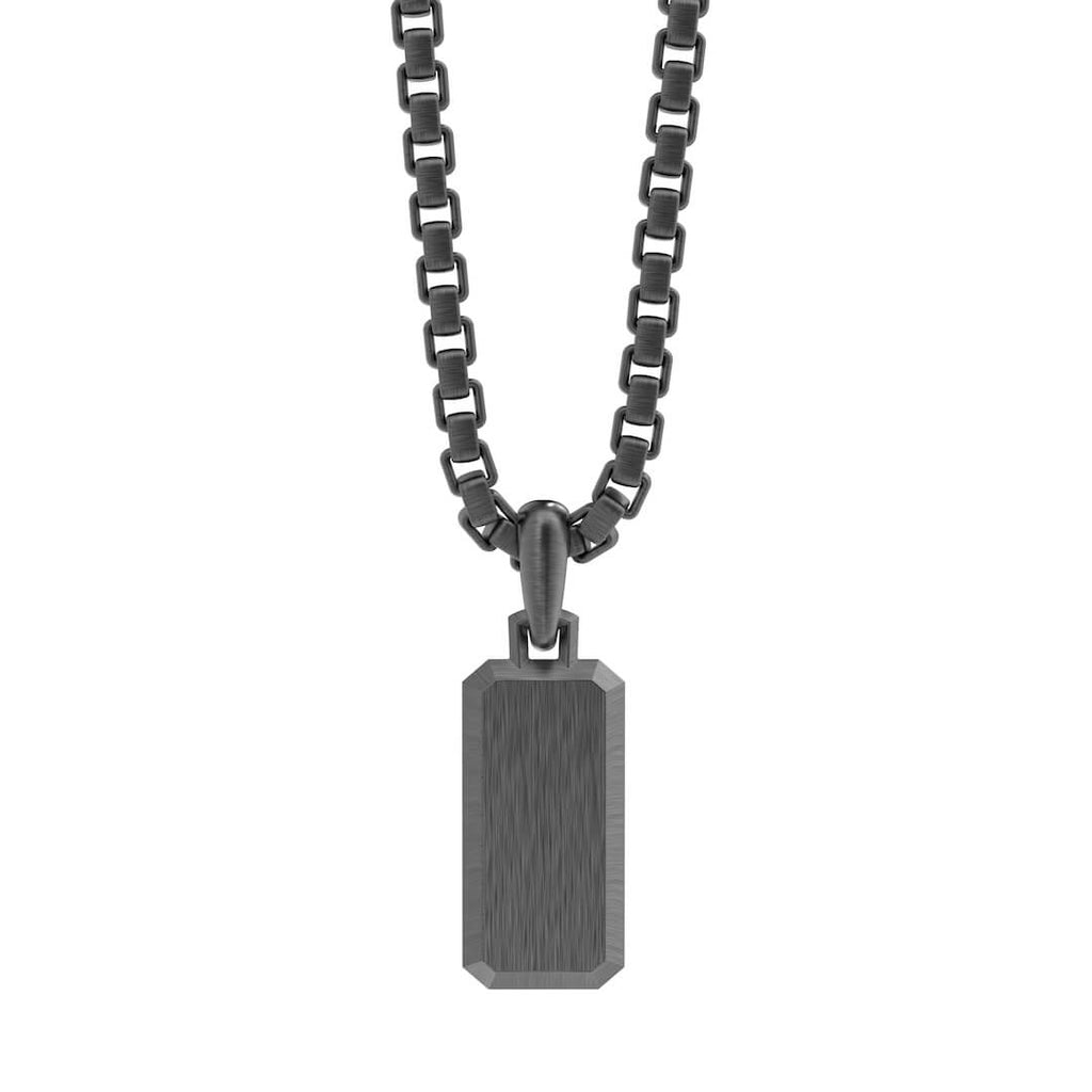 Dog Tag- Black