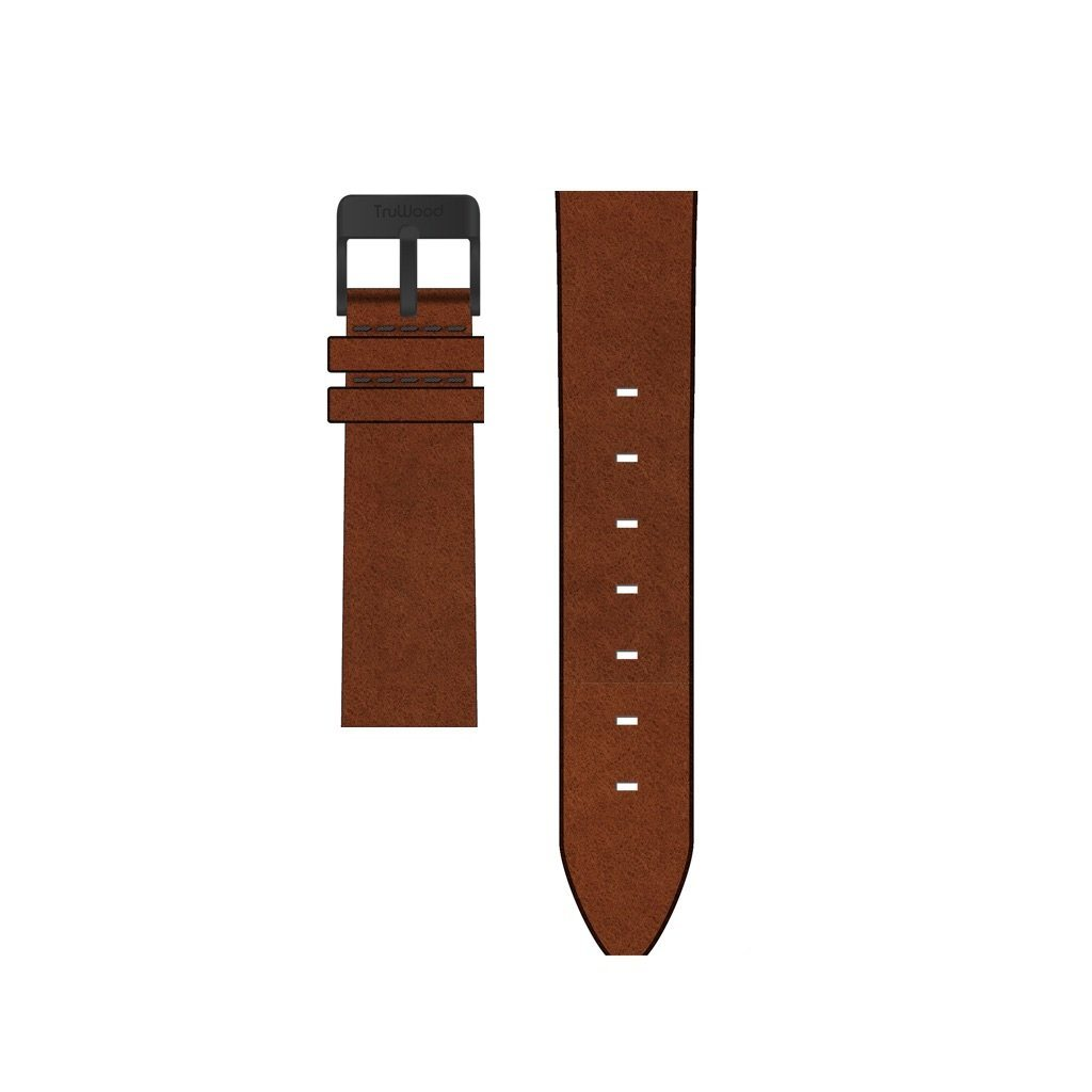 Brown Leather-TruWood