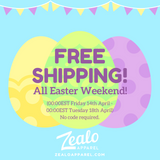 FREE Worldwide Shipping All Easter Weekend!
