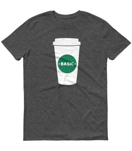 Basic Coffee Cup T-Shirt - Zealo Apparel Funny Shirts