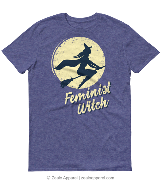 Feminist Witch T-Shirt - Zealo Apparel Feminism Shirts