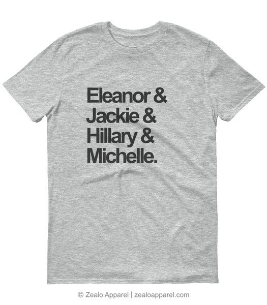 First Ladies Squad Goals T-Shirt Grey Marl - Zealo Apparel