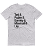 HIMYM Squad Goals T-Shirt Grey Marl - Zealo Apparel