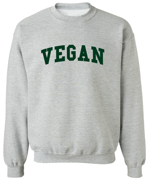 Vegan Varsity Sweater - Zealo Apparel, Sweaters - 1