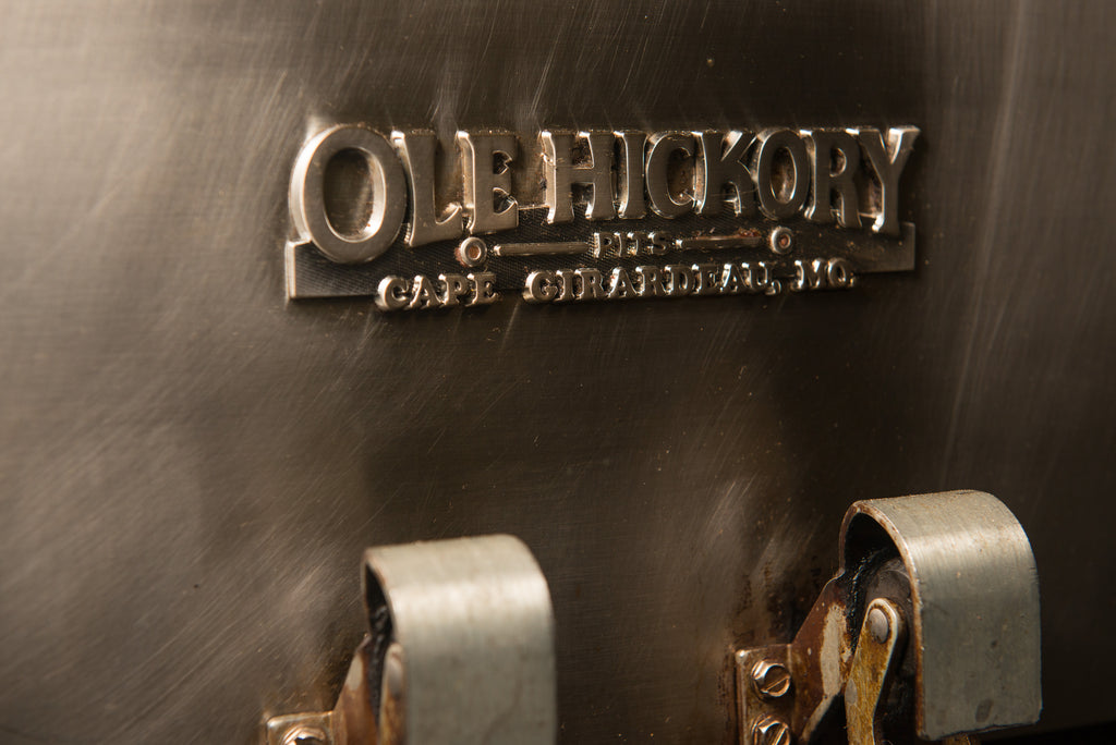Ole Hickory Pits wood fired smoker - commercial restaurant smoker