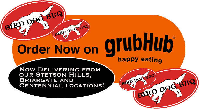 GrubHub Bird Dog BBQ Delivery
