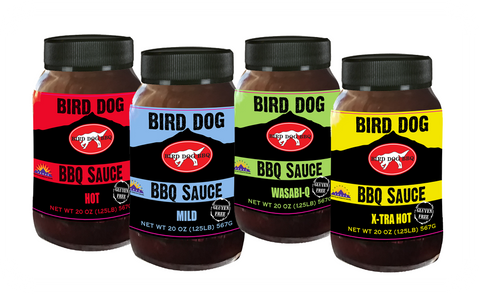 Bird Dog BBQ Mixed Case BBQ Sauce