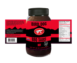 Bird Dog BBQ Hot BBQ Sauce