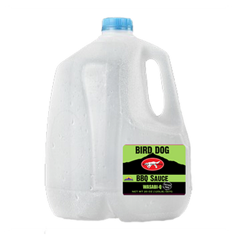 Wholesale 1 Gallon Jug: Wasabi-Q Sauce