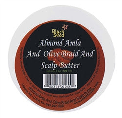HAIR - Almond Amla and Olive Braid & Scalp Butter 6oz.