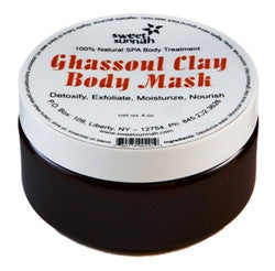 BODY - Ghassoul Clay Purifying Mask Kit 6oz.