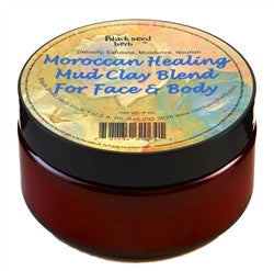 BODY - Moroccan Healing Mud Clay Blend For Face and Body 6oz. POWDER