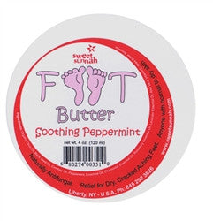 BODY - Peppermint Foot Butter 6oz.