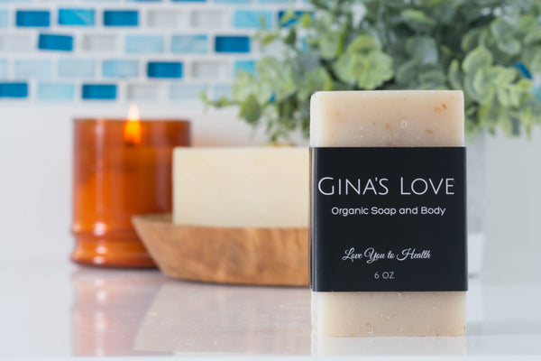 Double Shea Oatmeal Love Soap Bar