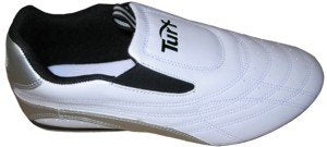 Turf White Martial Arts Shoes, 6.5