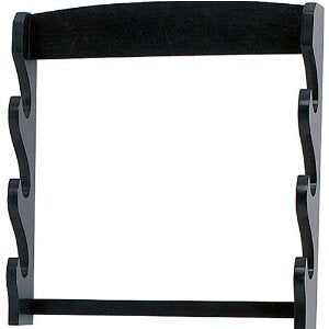 Ace Martial Arts Supply Katana Sword Wall Display Stand Rack (3-Tier)