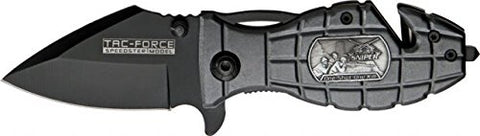 Tac Force TF-556SN Tactical Folding Knife, 3.5-Inch Closed