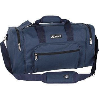 "Everest Bags 30"" Classic Gear Bag Travel Duffles, Navy"