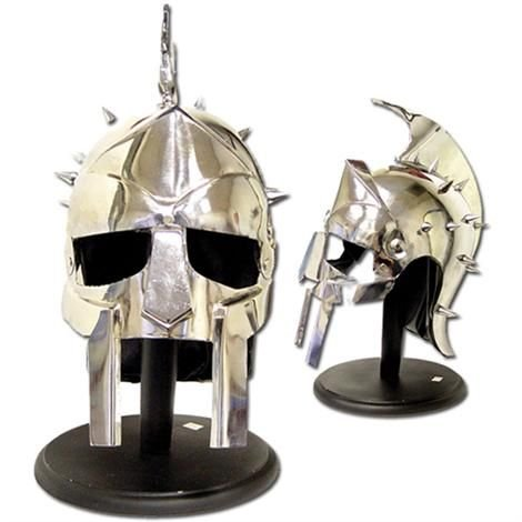 Gladiator Helmet with Stand (18 Gauge)
