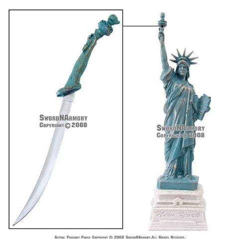 "12"" Tall Statue of Liberty Letter Opener New Great Gift"