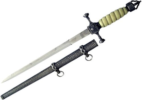 "New 19"" WWI German Imperial Navy Dagger W/ Scabbard Replica"