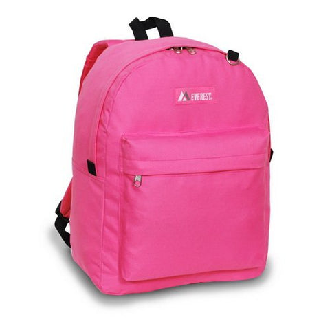 Everest 2045CR Classic Backpack (Price/Each), Everest Backpack - light pink