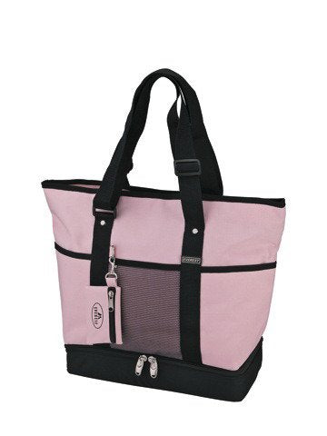 Everest 1002DLX Deluxe Shopping Tote - Purple/Black