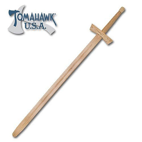 Wooden Medieval Knight Sword 48 inch