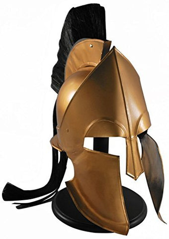 King Leonidas 300 Greek Spartan Trojan Warrior Helmet BRAND NEW