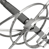 Spiral Rapier Sword of the Third Musketeer Model 3 of 3 Wire Handle