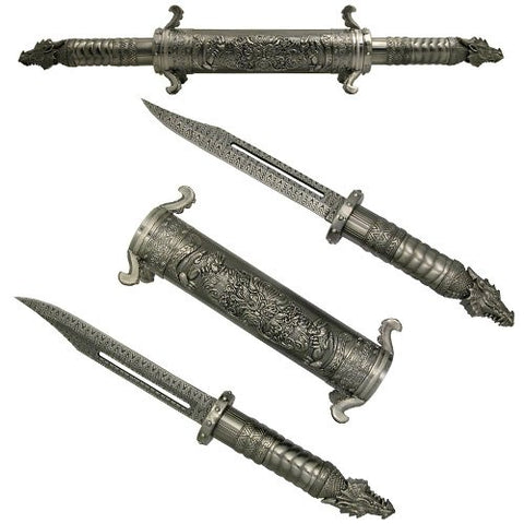Dragon Scroll Fantasy Dagger Set