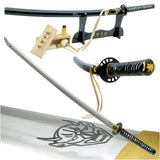 Handmade Kill Bill Bill's Samurai Katana Sword Leather