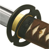Samurai Sword Boxed Brown Musashi ITO Katana Model 413